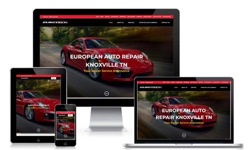 Knoxville website design for mechanics