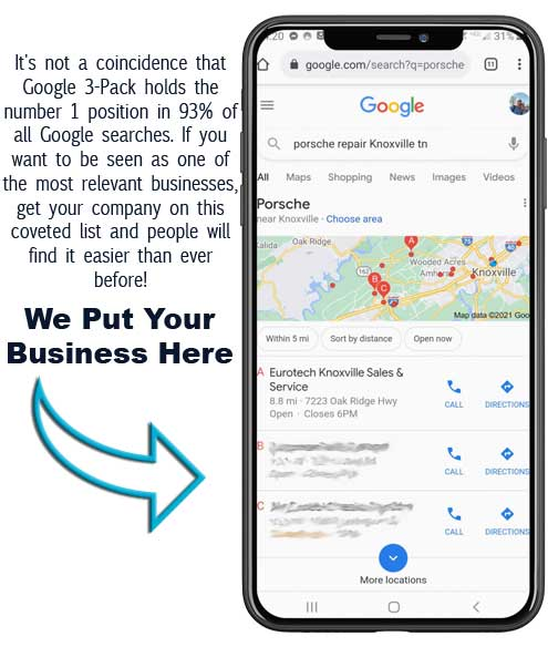 best local seo companies in Knoxville, TN, at Blue Collar Designs